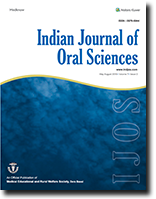 Indian Journal of Oral Sciences